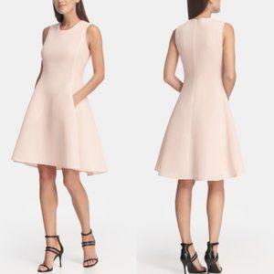 NWT DKNY Mesh Sleeveless Fit and Flare Dress 4